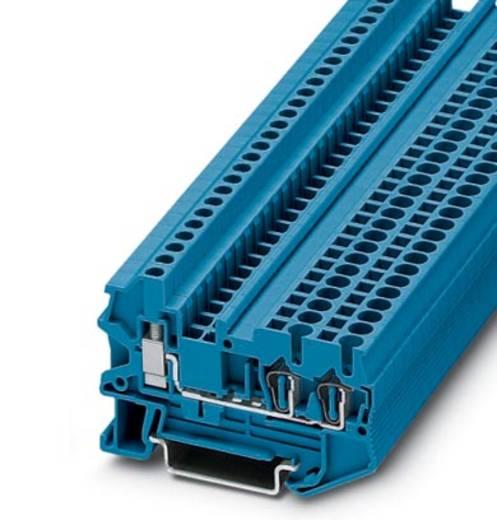 Phoenix Contact STU 2,5-TWIN BU 3033029 Durchgangsreihenklemme Polzahl: 3 0.08 mm² 2.5 mm² Blau 50 St.