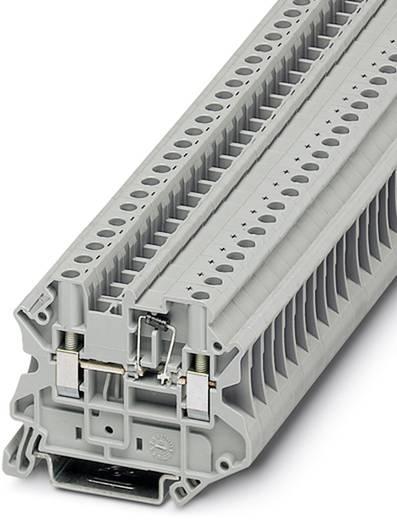 Phoenix Contact UT 4-MTD-DIO/R-L 3046236 Durchgangsreihenklemme Polzahl: 2 0.14 mm² 6 mm² Grau 50 St.