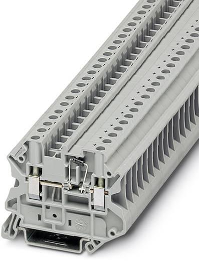 Phoenix Contact UT 4-MTD-DIO/R-L-P/P 3046359 Bauelementreihenklemme Polzahl: 2 0.14 mm² 6 mm² Grau 50 St.