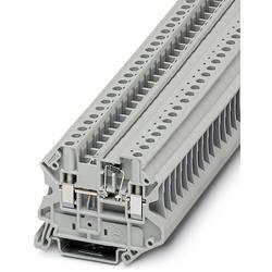 Řadová svorka pro konstrukční prvky Phoenix Contact UT 4-MTD-DIO/R-L-P/P 3046359, 50 ks, šedá