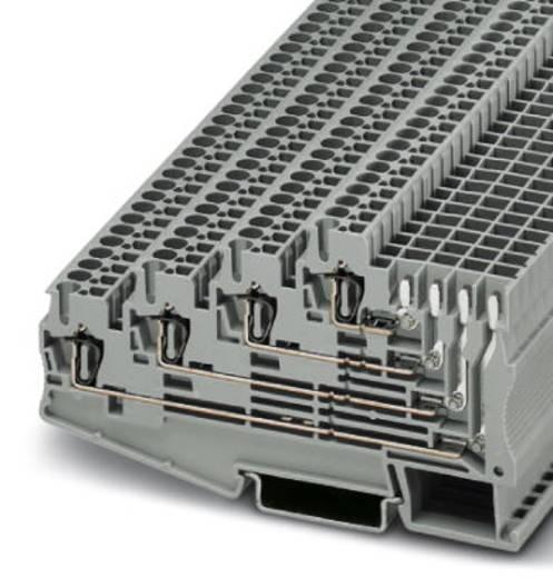 Phoenix Contact ST 2,5-4L/1P 3041985 Mehrstockklemme Polzahl: 5 0.08 mm² 2.5 mm² Grau 50 St.