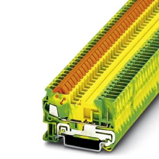 Phoenix Contact QTC 1,5/ 1P-PE 3050099 Dreistock-Schutzleiterklemme Polzahl: 2 0.25 mm² 1.5 mm² Grün-Gelb 50 St.