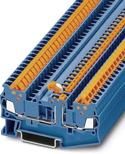Durchgangsreihenklemme QTC 1,5-MT BU QTC 1,5-MT BU Phoenix Contact Blau Inhalt: 50 St.