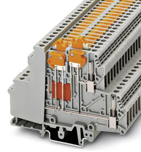 Phoenix Contact UDMTK 5-PL 3048454 Durchgangsreihenklemme Polzahl: 4 0.2 mm² 4 mm² Grau 50 St.