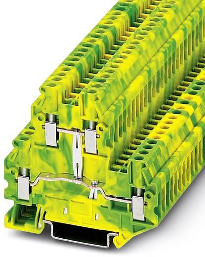 Durchgangsreihenklemme UTTB 2,5-PE Grün-Gelb Phoenix Contact 50 St.