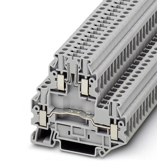 Doppelstock-Klemme UTTB 4-TG Grau Phoenix Contact 50 St.