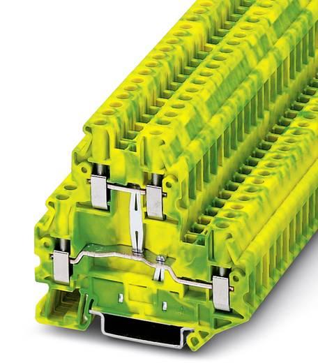 Durchgangsreihenklemme UTTB 4-PE Grün-Gelb Phoenix Contact 50 St.