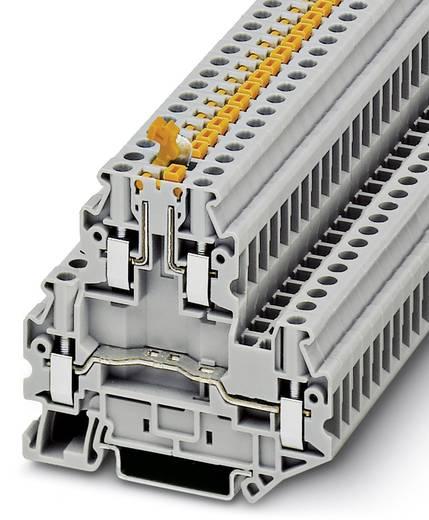 Doppelstock-Klemme UTTB 4-MT P/P Grau Phoenix Contact 50 St.