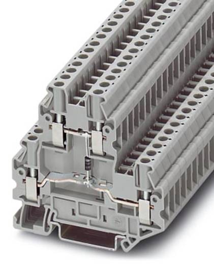Phoenix Contact UTTB 2,5-DIO/U-O 3046663 Bauelementreihenklemme Polzahl: 4 0.14 mm² 4 mm² Grau 50 St.