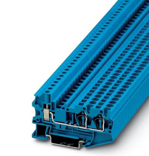 Phoenix Contact STU 4-TWIN BU 3033061 Durchgangsreihenklemme Polzahl: 3 0.08 mm² 4 mm² Blau 50 St.