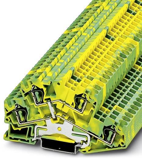 Durchgangsreihenklemme STTBS 4-PE Grün-Gelb Phoenix Contact 50 St.