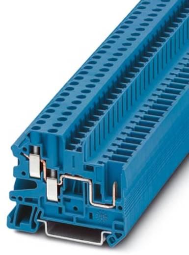 Phoenix Contact UT 4-TWIN/ 1P BU 3060270 Durchgangsklemme Polzahl: 3 0.14 mm² 6 mm² Blau 50 St.