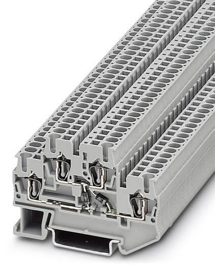 Phoenix Contact STTB 2,5-2DIO/UL-O/UL-UR 3035263 Bauelementreihenklemme Polzahl: 4 0.08 mm² 2.5 mm² Grau 50 St.