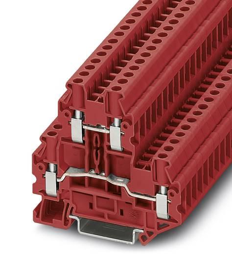 Phoenix Contact UTTB 4 RD 3046786 Durchgangsreihenklemme Polzahl: 4 0.14 mm² 6 mm² Rot 50 St.