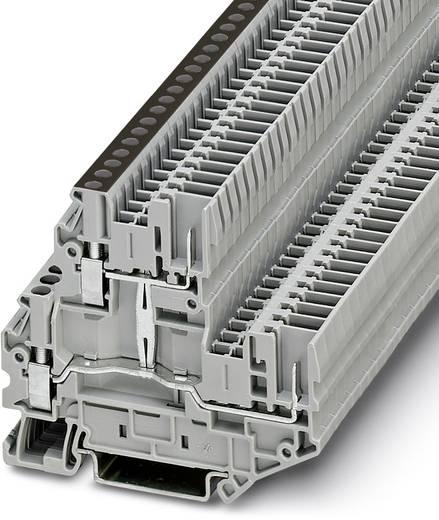 Doppelstock-Klemme UTTB 2,5/2P-PV Grau Phoenix Contact 50 St.