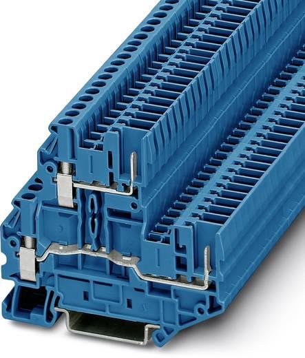 Phoenix Contact UTTB 2,5/2P BU 3060364 Doppelstockklemme Polzahl: 4 0.14 mm² 4 mm² Blau 50 St.