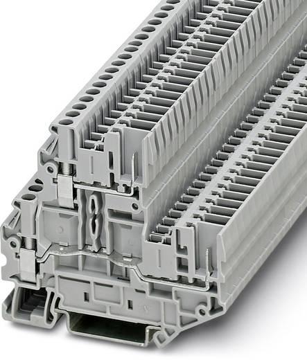 Phoenix Contact UTTB 2,5/2P 3060351 Doppelstockklemme Polzahl: 4 0.14 mm² 4 mm² Grau 50 St.