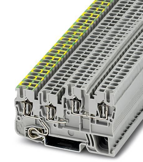 Phoenix Contact STIO 2,5/3-PE/B/L 3209044 Installationsschutzleiterklemme Polzahl: 4 0.08 mm² 2.5 mm² Grau 50 St.