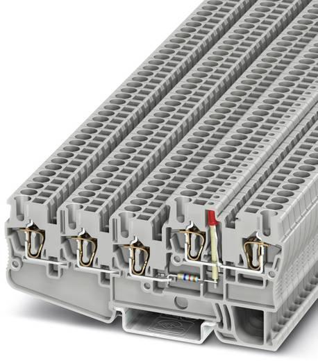 Initiatoren-/Aktorenklemme STIO 2,5/4-3B/L-LA24RD/O-M Grau Phoenix Contact 50 St.