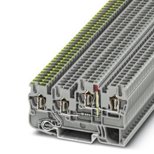Phoenix Contact STIO 2,5/3-PE/B/L-LA24GN/O-M 3209141 Installationsschutzleiterklemme Polzahl: 4 0.08 mm² 2.5 mm² Grau 50