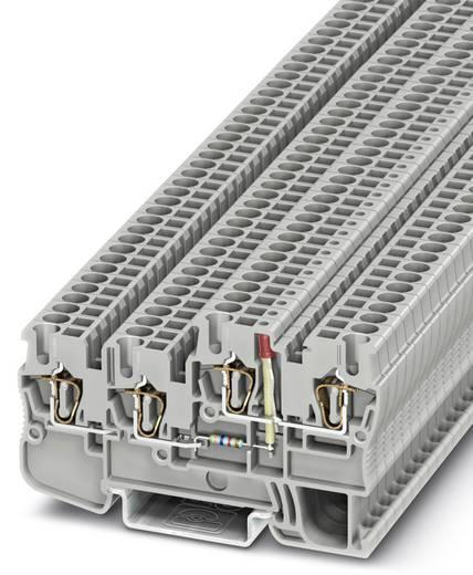 Phoenix Contact STIO 2,5/3-2B/L-LA24GN/O-M 3209031 Initiatoren-/Aktorenklemme Polzahl: 4 0.08 mm² 2.5 mm² Grau 50 St.