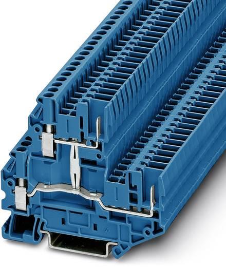 Phoenix Contact UTTB 2,5/2P-PV BU 3060487 Doppelstockklemme Polzahl: 4 0.14 mm² 4 mm² Blau 50 St.