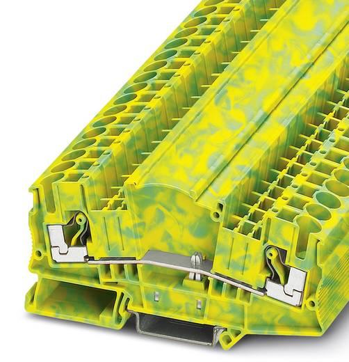 Phoenix Contact DTMED 6-PE 3034497 Dreistock-Schutzleiterklemme Polzahl: 2 0.5 mm² 6 mm² Grün-Gelb 50 St.