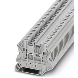 Řadová svorka pro konstrukční prvky Phoenix Contact UT 2,5-MTD-DIO/L-R 3064137, 50 ks, šedá