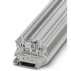 Řadová svorka pro konstrukční prvky Phoenix Contact UT 2,5-MTD-DIO/R-L 3064140, 50 ks, šedá