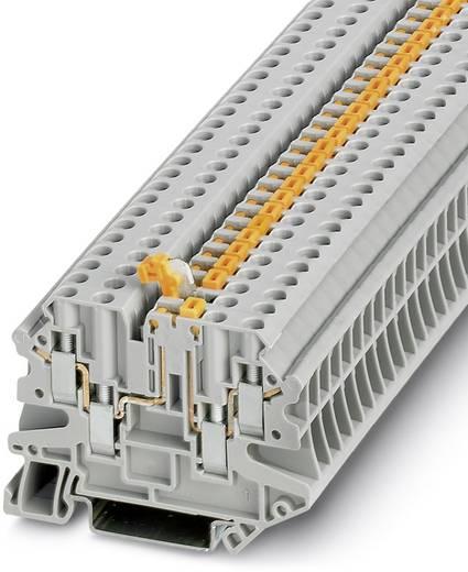 Phoenix Contact UT 4-QUATTRO-MT P/P 3064056 Durchgangsreihenklemme Polzahl: 4 0.14 mm² 6 mm² Grau 50 St.