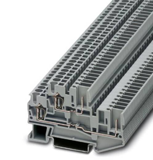 Doppelstock-Klemme STTB 2,5/2P-PV SO Grau Phoenix Contact 50 St.