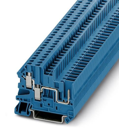 Phoenix Contact UT 2,5-TWIN/1P BU 3060500 Durchgangsklemme Polzahl: 3 0.14 mm² 4 mm² Blau 50 St.