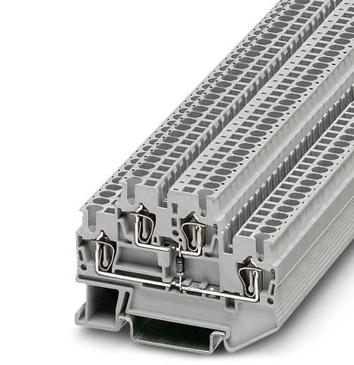 Phoenix Contact STTB 2,5-BE 3035519 Doppelstock-Zugfederklemme Polzahl: 4 0.08 mm² 2.5 mm² Grau 50 St.