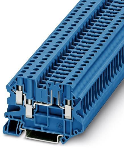 Phoenix Contact UT 4-TWIN-TG P/P BU 3073047 Durchgangsreihenklemme Polzahl: 3 0.14 mm² 6 mm² Blau 50 St.