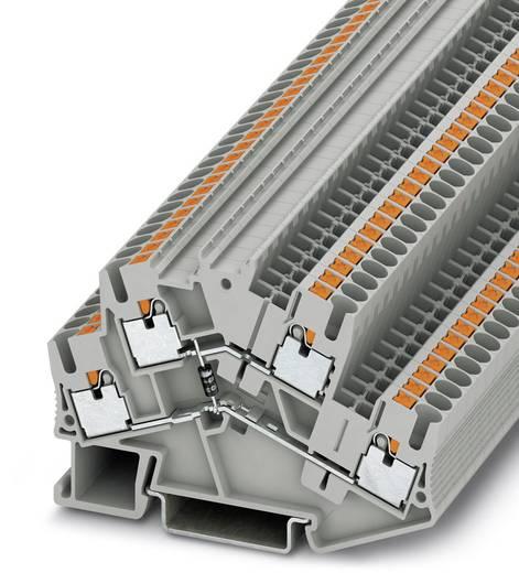 Doppelstock-Klemme PTTBS 2,5-DIO/O-U Grau Phoenix Contact 50 St.