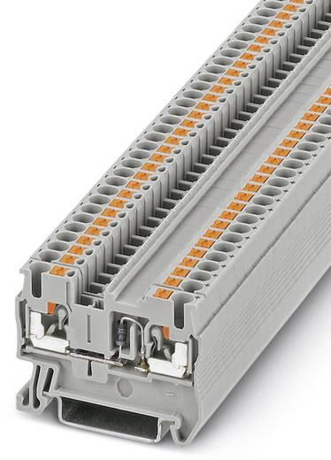 Phoenix Contact PT 2,5-DIO/R-L 3210237 Durchgangsreihenklemme Polzahl: 2 0.14 mm² 2.5 mm² Grau 50 St.