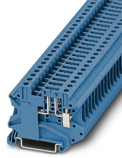 Phoenix Contact UT 4-TG BU 3073283 Durchgangsreihenklemme Polzahl: 2 0.14 mm² 6 mm² Blau 50 St.