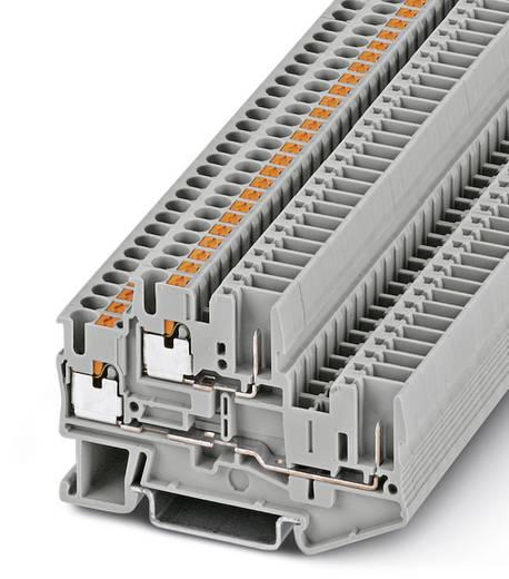 Phoenix Contact PTTB 2,5/2P 3210871 Doppelstockklemme Polzahl: 4 0.14 mm² 2.5 mm² Grau 50 St.