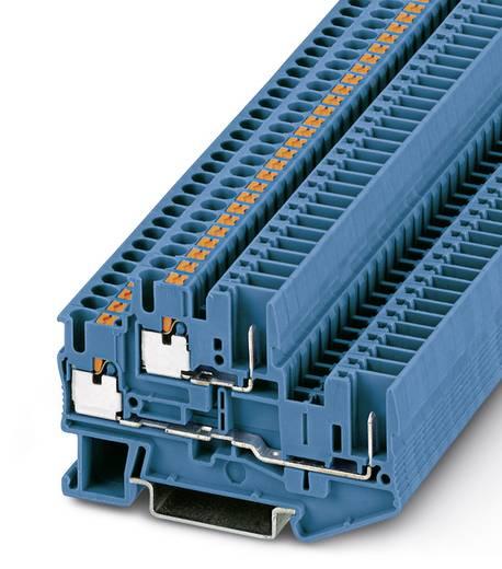 Phoenix Contact PTTB 2,5/2P BU 3210884 Doppelstockklemme Polzahl: 4 0.14 mm² 2.5 mm² Blau 50 St.