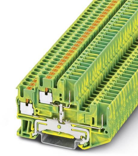 Phoenix Contact PTTB 2,5/2P-PE 3210897 Schutzleiter-Doppelstockklemme Polzahl: 4 0.14 mm² 2.5 mm² Grün-Gelb 50 St.