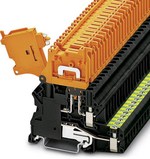 Phoenix Contact UT 4-PE/HEDI 3074004 0.14 mm² 6 mm² Schwarz 50 St.