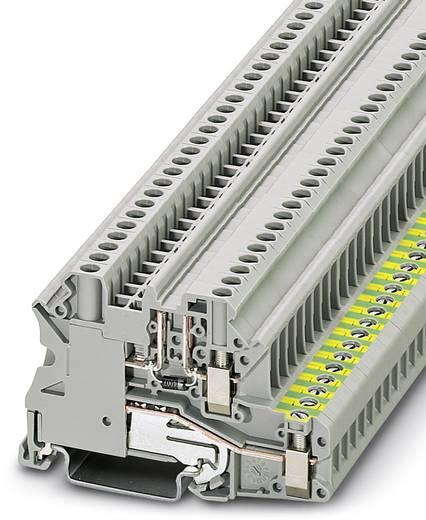 Phoenix Contact UT 4-PE/L-DIO/L-R P/P 3046834 Bauelementreihenklemme Polzahl: 2 0.14 mm² 6 mm² Grau 50 St.