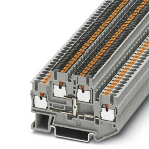 Phoenix Contact PTTB 2,5-PV 3210583 Doppelstockklemme Polzahl: 4 0.14 mm² 2.5 mm² Grau 50 St.