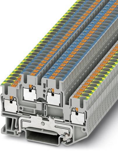 Phoenix Contact PTTB 2,5-PE/N 3210981 Schutzleiter-Doppelstockklemme Polzahl: 4 0.14 mm² 2.5 mm² Grau 50 St.
