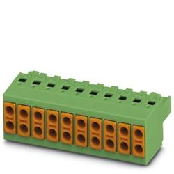 Zásuvkové púzdro na kábel Phoenix Contact TVFKCL 1,5/ 3-ST 1715934, 25.80 mm, pólů 2, rozteč 5 mm, 50 ks