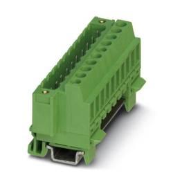 Zásuvkové púzdro na kábel Phoenix Contact FKCT 2,5/ 3-ST BK 1800497, 25.60 mm, pólů 3, rozteč 5 mm, 50 ks