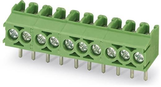 Schraubklemmblock 1.50 mm² Polzahl 3 PT 1,5/ 3-3,5-V Phoenix Contact Grün 250 St.