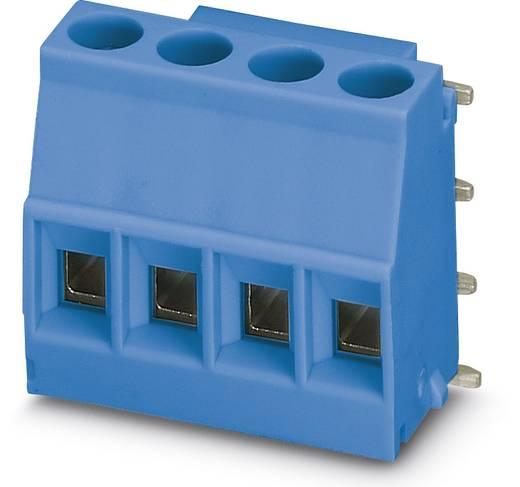 Schraubklemmblock 2.50 mm² Polzahl 4 MKDSO 2,5/ 4-R BU Phoenix Contact Blau 50 St.