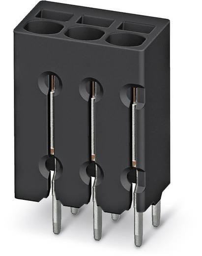 Federkraftklemmblock 0.50 mm² Polzahl 6 PTSM 0,5/ 6-2,5-V THR R44 Phoenix Contact Schwarz 310 St.