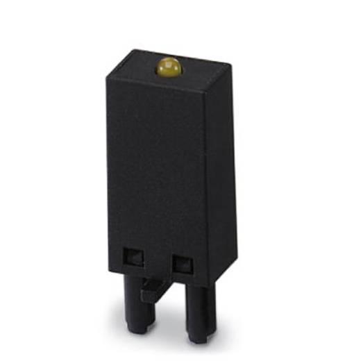 Steckmodul mit LED, mit Varistor 10 St. Phoenix Contact LV- 12- 24UC Leuchtfarbe: Gelb Passend für Serie: Phoenix Contact Serie PR Passend für Modell: Phoenix Contact PR1, Phoenix Contact PR2